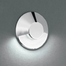 "Kania LED - Nami 1 recessed light - Product description:  The Nami 1 recessed light has been designed by the German engineer Martin Kania. Kania�exclusively use Power LEDs. Power LEDs are the world, s brightest LEDs offering up to 140 lumens per single source and are available in a variety of configurations. The Nami LED is available in 3 finishes. Several LED colors are available. Kania redesigned and improved the LED line for professional requirements; the result is the new outstanding LED PRO series solving even the most demanding of tasks. Most of the lights are in stock and ready to ship!    Advantages        State of the art�technology      Energy efficiency up to 90%      No ultraviolet or infrared radiation       Extremely long life, up to 50,000 hours      Low-voltage power supply      Very low early failure rate      Durable      High color efficiency      1W or 3W power LED (4W are coming up )      White LED 3300K, 4200K or 5500K      Color LED available in red, blue green and amber      Power acrylic and glass lenses      Timeless design      Other finishes and LED colors on request      �            Details:                                                      Manufacturer:                   Kania                                              Design:                                     Martin Kania                                                                Made in:                  Germany                                              Dimensions:                                     D/d 1.77"" x H 0.39"" x MH 0.83""                  � 45 mm x H 10 mm x MH 21 mm                                                                Light bulb:                                     1 x 1W Power LED light                                                                 Material                                     metal, glass"