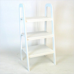 Wayborn Birchwood Ladder Stand in White