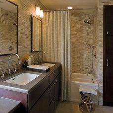 Modern Bathroom by Rachel Reider Interiors