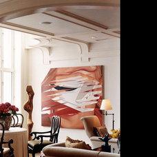 Contemporary Living Room by Gibbons, Fortman & Associates, Ltd.