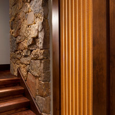 Eclectic Interior Doors by Magleby Construction