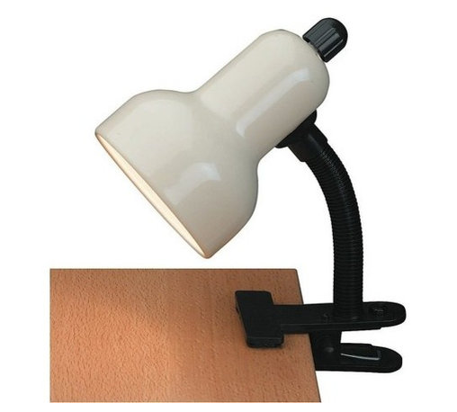 "Lite Source - Lite Source LS-111 Clamp On Lamp Clip-On Collection - Gooseneck Clip-On-LitePut it where you want it.60W Incandescent A Type Bulb(Bulb Not Included)E-27 Socket (Medium Base)12"" Height / Reach"