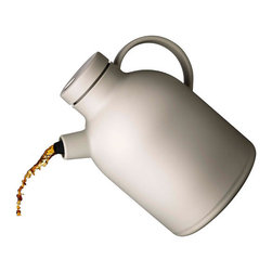 MENU - Kettle Thermo Jug - This could become a permanent fixture in your living room or breakfast nook. The thermo design means you don't have to get up to reboil water every time your tea gets cold, and the non-drip spout guarantees no drips. What's not to love?
