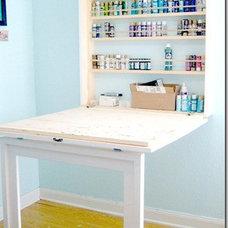 Remodelaholic | Fun Craft Room Makeover