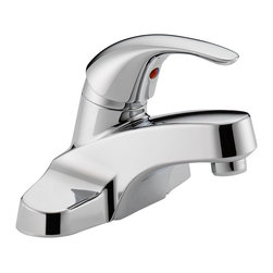 Delta Single Handle Lavatory Faucet - P138LF-M - Getting ready in the morning is far from routine when you're surrounded by a room and in the company of a faucet that reflects your personal style