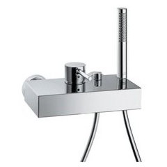 Hansgrohe 10402 Axor Starck X Wall Mounted Bath Tub Filler Faucet with Hand Show