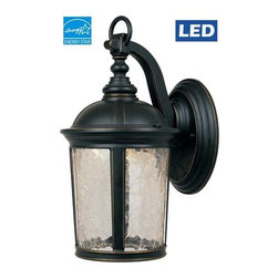 """Designers Fountain - Designers Fountain LED21321 Winston 13.75"""" Height 1 Light LED Outdoor Wall Sconc - Features:"""