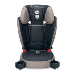 Britax - BRITAX Parkway SG Booster in Knight - The BRITAX Parkway SG Booster offers safety, comfort and convenience for your toddler. It combines True Side Impact Protection with a belt-positioning booster seat that helps keep your child in the proper position. Model E9LM24V.