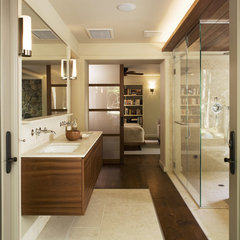 modern bathroom by Elliott Kaufman