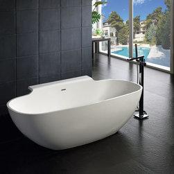 "Suviana Luxury Modern Bathtub 70.9"" - Suviana  Luxury Modern Bathtub"