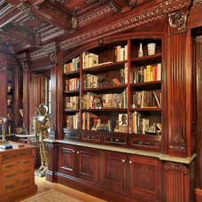 Traditional Home Office by UltimateCarver.com