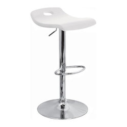 Surf Bar Stool in White