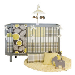 Glenna Jean - Brea Baby Crib Bedding Set 4-Piece Set - The perfect nursery for your little princess! The Brea Baby Crib Bedding Set by Glenna Jean adds a magnificent touch to your little girl's room. Beautiful velvet fabrics, embroidered taffetas, and rich ribbon are hand patched with ribbon accents and trimmed with a finely looped ribbon cord. Floor length crinkle crib skirt adds to the luxurious look. A classic design, Ribbons and Roses will make baby's space sparkle, and become a treasured family heirloom to remind you of this joyous time.