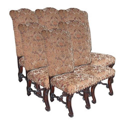 EuroLux Home - Set/6 New Side Chairs Tuscan Style - Product Details
