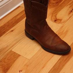 Engineered Hickory Natural 9/16 x 5 Hand Scraped Hardwood Flooring -
