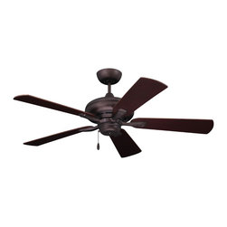 Emerson Ceiling Fans - Emerson Ceiling Fans CF772ORB Emerson  CF772ORB  Oil Rubbed Bronze with Dark Che - Emerson CF772 Monterey II 52-in Ceiling Fan Monterey II 52 Ceiling Fan Down rod :4.5 included. Control. Pull Chain Number of Speeds 3. Reverse Function