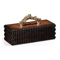 Jonathan Charles - New Jonathan Charles Pencil Box Walnut - Product Details