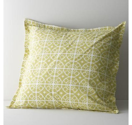 Contemporary Shams by Crate&Barrel