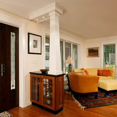 Craftsman Living Room by Michael Nash Design, Build & Homes