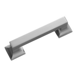 Belwith / Hickory - Belwith Hickory 3 In. Studio Collection Satin Nickel Cabinet Pull P3010-SN Hardw - Often characterized with clean, sleek lines.  Marked with solid colors, predominantly muted neutrals or bold bunches of color.  An emphasis on basic shapes and forms.Product Name: 3 In. Studio Collection Satin Nickel Cabinet PullFinished: Satin Nickel FinishIncluded: Mounting Hardware IncludedSize Type: Center To CenterScrew Center to Center in Inches: 3Diamter: Diamension Length in Inches: 3.88Diamension Width Inches: 1.17Diamension Height Inches: 1.09Weight in OZ: 3.488Product Type: PullsStyle: ContemporaryFinish Name: Satin NickelAppearance Finish: Satin (Brushed)Color Palette: Silvers/GreysBasic Shape: Simple/Sleek/Smooth