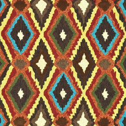 Loloi Rugs - Loloi Rugs Enzo Brown-Multi Outdoor Hand Hooked Rug X-9332LMRB50-ZEOZNE - The Enzo Collection takes this high-fashion pattern outdoors. The allover Ikat designs enjoy a rich, bold, bright palette. The hand-hooked polypropylene and polyester rugs feature three dimensions of texture including hooks and cut pile for an overall look that exceeds expectations for an outdoor product.