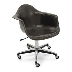 Modernica Rolling Base Arm Shell Chair