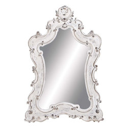 "Benzara - Mirror in Timeless Design with Imperial Royal Look - This mirror owns a design so beautiful; High quality resin; Suitable for modern and traditional decor; Timeless design with imperial look; Durable and long lasting; Weight: 26.21 lbs you would want to see more of yourself in it. Built with super quality resin material, it offers durability and a long life. It can be used for both traditional and contemporary decor to offer a perfect touch of royalty. With an extraordinary design, this PS mirror needs a special place for it to be placed. Keep it in your bedroom for an exquisite feel or hang it up on your living room wall to offer a elegance. This PS mirror is sure to enhance the charm of your home and make you feel proud of your choice. You can now say that regality now has a new definition with this stunning PS mirror. It will bring style and grace to the room where you choose to place it.; ; Dimensions:33""W x 1""D x 46""H"