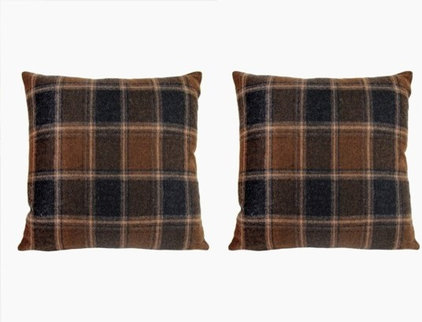 Traditional Decorative Pillows by Sparrow & Co.