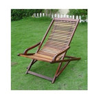 Vifah - Relaxer Lounge Chair in Plantation Teak - Design: This Relaxer Chaise Lounge features a contoured seat and curved. Made from Premium plantation teak, finished with a light teak oil and solid brass fittings ensure a lifetime of use in all weather conditions. It easily folds away for convenient storage or transport. Material: Our products are made from teak grown in sustainable production throughout the seasonally dry tropics in forestry plantations. Plantation grown teak is not exactly the same with the old-growth teak, which is reputable for durability, structural strength, attractive appearance, and sanity smooth surface. However kiln drying allows for sustainable, plantation-grown teak to perform nearly on par with old-growth teak. Similar to the old-growth teak, plantation-grown teak has a rich golden color throughout its grain, and provides an elegant look for any outdoor wood products. It also has a lot of natural oils that make it water repellent, insect resistant, and suitable for use in exposed locations. The wood also has the unique qualities of not rotting or accumulating rust even when joined with metal.