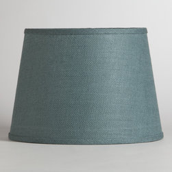 World Market - Thyme Burlap Table Lamp Shade - Soft light filters through our Thyme Burlap Table Lamp Shade, casting a warm glow on your space. This eco-chic shade is made from 100% burlap, a wonderfully versatile material that offers a rustic look. The perfect size for an end table, console table or nightstand, our affordable Table Lamp Shades coordinate with our wide selection of Table Lamp Bases, so you can create the perfect ensemble to fit your style, space and budget.