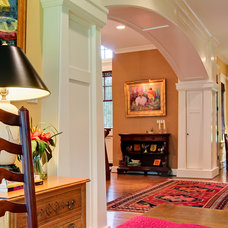 Traditional Hall by Wolford Building & Remodeling