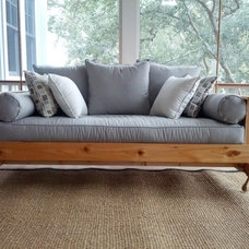 Traditional Porch Swings by Lowcountry Swing Beds LLC