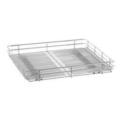 Customize this contemporary modular steel wire system to your storage ...