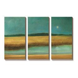 Artcom - Harvest Moon by Caroline Gold - Harvest Moon by Caroline Gold is a Canvas Art Set.
