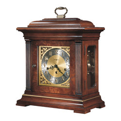 Howard Miller - Howard Miller Triple Chime Key Wound Mantel Clock | THOMAS TOMPION - 612436 THOMAS TOMPION