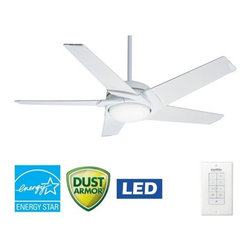 "Casablanca - Casablanca 59091 Stealth 54"" 5 Blade Ceiling Fan - Blades and Light Kit Included - Included Components:"
