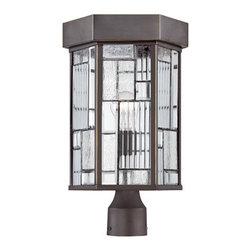 Designer Fountain - Kingsley Post Lantern - 10 inches post lantern
