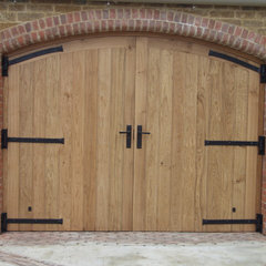 traditional garage doors by Britannia Joinery