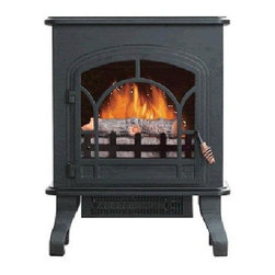 World Marketing - Comfort Glow Bristol Electric Stove - Comfort glow bristol electric stove with black finish