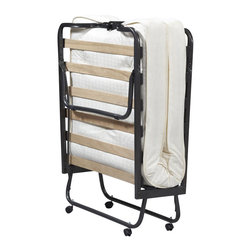 Linon - Linon Luxor Folding Bed with Memory Foam Mattress - Linon - Beds - 352STD01ASUPS