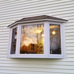 Bay Window Install - Exterior Shot - Coastal Windows & Exteriors