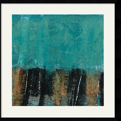Amanti Art - Arctic Team Framed Print by Gabriella Lewenz - Cool and refreshing, this modern print by Gabriella Lewenz is sure to lend an air of soothing peace to your surroundings.