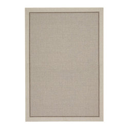 """Couristan - Tides Freeport Rug 0057/4009 - 6'7"""" x 9'6"""" - Tastefully simple these durable, weather-defying area rugs are suitable for indoor and outdoor use. You'll love the way their warm, neutral color-schemes coordinate with today's most popular outdoor furniture pieces. Perfect for patio decks, kitchens and entryways the simplicity and practicality of each design offered in Tides will provide your setting of choice with an universal appeal."""