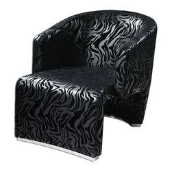 Uttermost - Chrome Yareli Wood Chair - Chrome Yareli Wood Chair