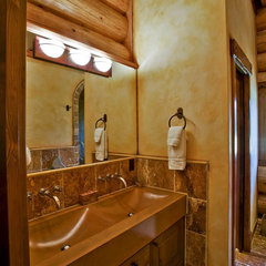 eclectic bathroom by Debbie Evans,RID