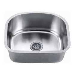 Dawn - Dawn Sinks Undermount 18 Gauge Single Bowl Kitchen Sink - This Undermount 18 Gauge Single Bowl Kitchen Sink by Dawn Sinks is made of 304 type Stainless Steel with 18/8 Chrome-Nickel content. The Satin Nickel Polished finish looks great in any kitchen and the sink is long-lasting and easy-to-clean. Ships via UPS/FedEx Ground.