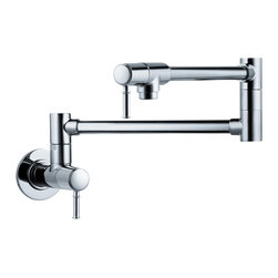 Hansgrohe - Hansgrohe 4218000 Talis C Wall Mounted - Pot Filler, Wall-Mounted