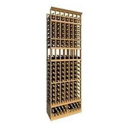 8' Seven Column Display Wood Wine Rack - The 8' Seven Column Display Wood Wine Rack is part of our 8' Series.