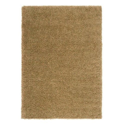 "Surya Rugs - Surya LXY1735 Luxury Shag Plush Mahogany Brown Rug - 100% Polypropylene. Style: Plush. Rugs Size: 5'3"" x 7'6"". Note: Image may vary from actual size mentioned."