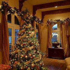Traditional Christmas Trees by Hob Nob Decor